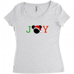 joy to the world of mickey Women's Triblend Scoop T-shirt | Artistshot