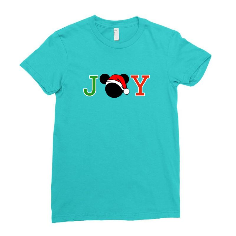 Joy To The World Of Mickey Ladies Fitted T-shirt | Artistshot
