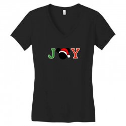 joy to the world of mickey Women's V-Neck T-Shirt | Artistshot