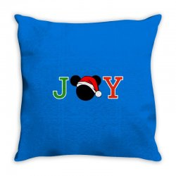 joy to the world of mickey Throw Pillow | Artistshot