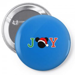 joy to the world of mickey Pin-back button | Artistshot