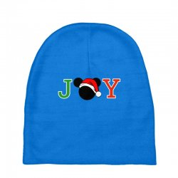 joy to the world of mickey Baby Beanies | Artistshot