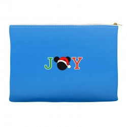 joy to the world of mickey Accessory Pouches | Artistshot