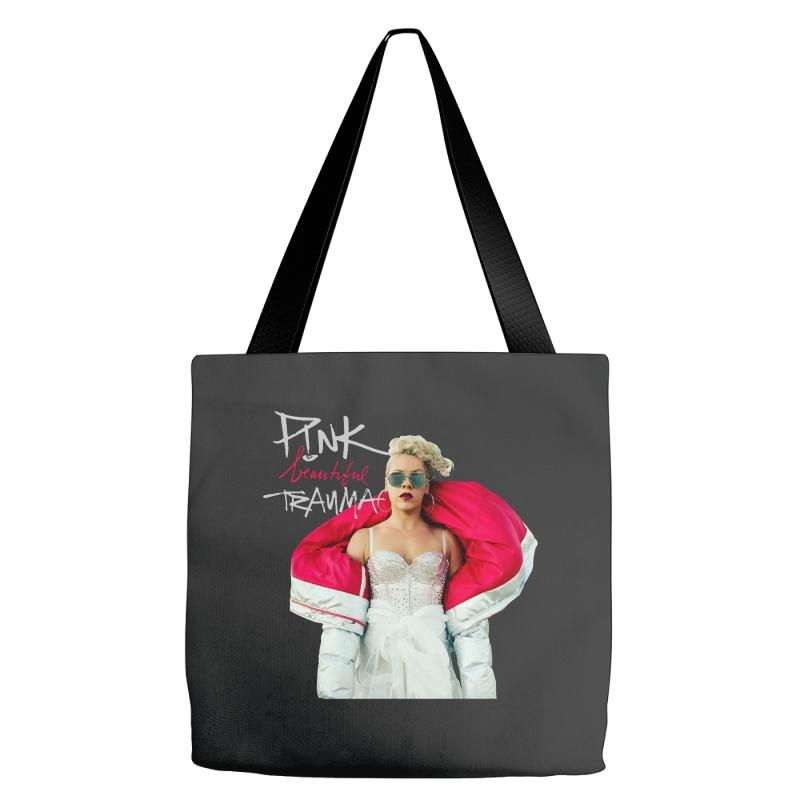 Pink Beautiful Trauma Tote Bags | Artistshot