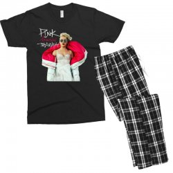 pink beautiful trauma Men's T-shirt Pajama Set | Artistshot