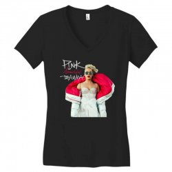 pink beautiful trauma Women's V-Neck T-Shirt | Artistshot