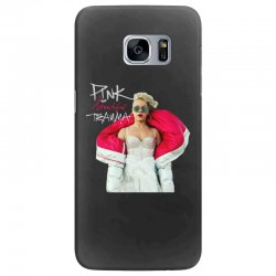 pink beautiful trauma Samsung Galaxy S7 Edge Case | Artistshot