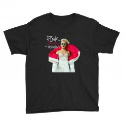 pink beautiful trauma Youth Tee | Artistshot