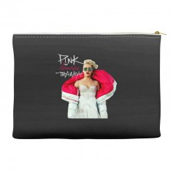 pink beautiful trauma Accessory Pouches | Artistshot