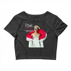 pink beautiful trauma Crop Top | Artistshot
