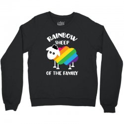 rainbow sheep of the family Crewneck Sweatshirt | Artistshot