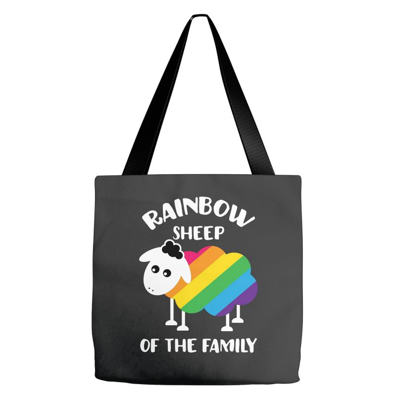Rainbow Sheep Of The Family Tote Bags | Artistshot