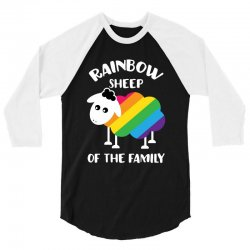 rainbow sheep of the family 3/4 Sleeve Shirt | Artistshot