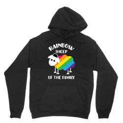rainbow sheep of the family Unisex Hoodie | Artistshot