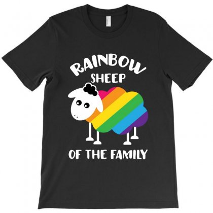 Rainbow Sheep Of The Family T-shirt Designed By Blqs Apparel