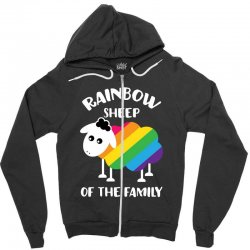 rainbow sheep of the family Zipper Hoodie | Artistshot