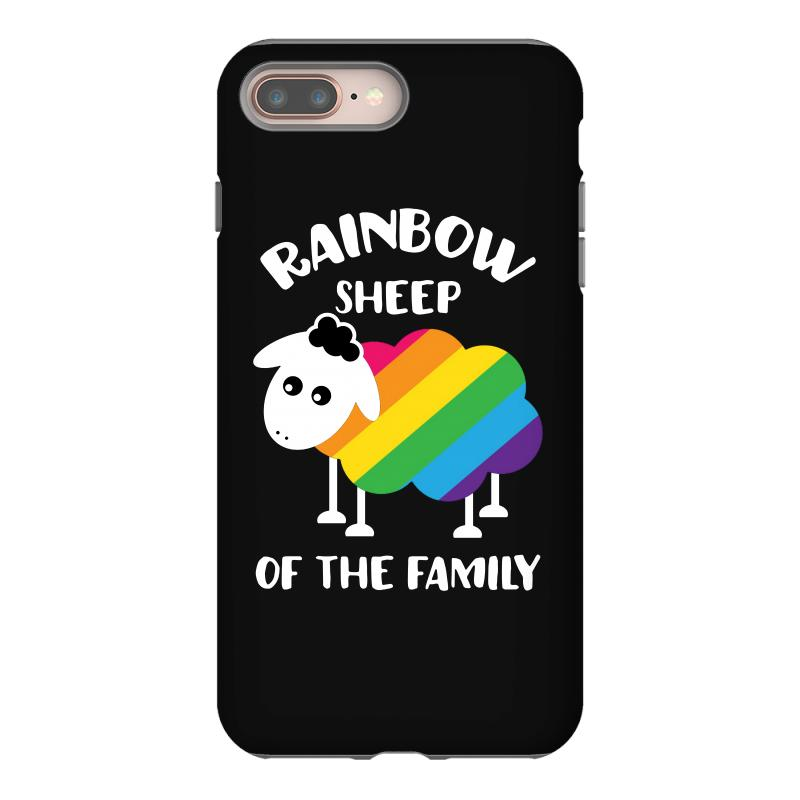 Rainbow Sheep Of The Family Iphone 8 Plus Case | Artistshot