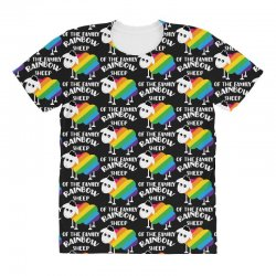 rainbow sheep of the family All Over Women's T-shirt | Artistshot