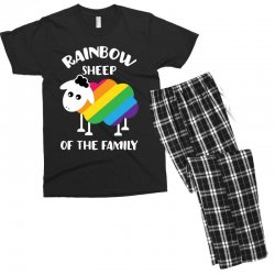rainbow sheep of the family Men's T-shirt Pajama Set | Artistshot