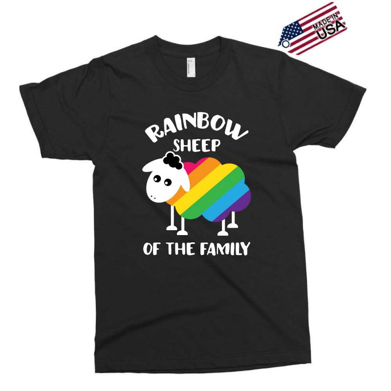 Rainbow Sheep Of The Family Exclusive T-shirt | Artistshot