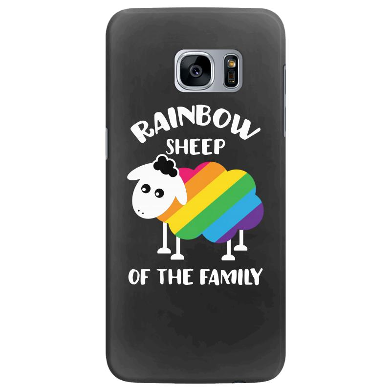 Rainbow Sheep Of The Family Samsung Galaxy S7 Edge Case | Artistshot