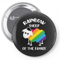 rainbow sheep of the family Pin-back button | Artistshot