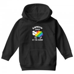 rainbow sheep of the family Youth Hoodie | Artistshot