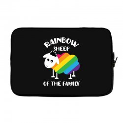 rainbow sheep of the family Laptop sleeve | Artistshot