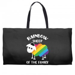 rainbow sheep of the family Weekender Totes | Artistshot