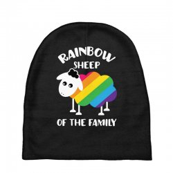 rainbow sheep of the family Baby Beanies | Artistshot