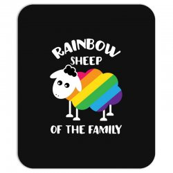 rainbow sheep of the family Mousepad | Artistshot