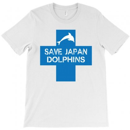 Save Japan Dolphins New T-shirt Designed By Hektoart