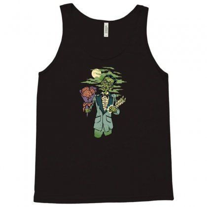 Date Of The Dead Tank Top Designed By Mdk Art