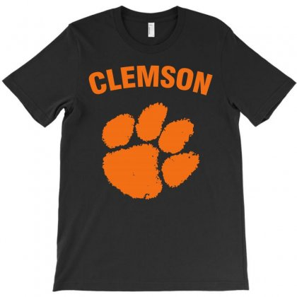 Clemson Tigers T-shirt Designed By Black White