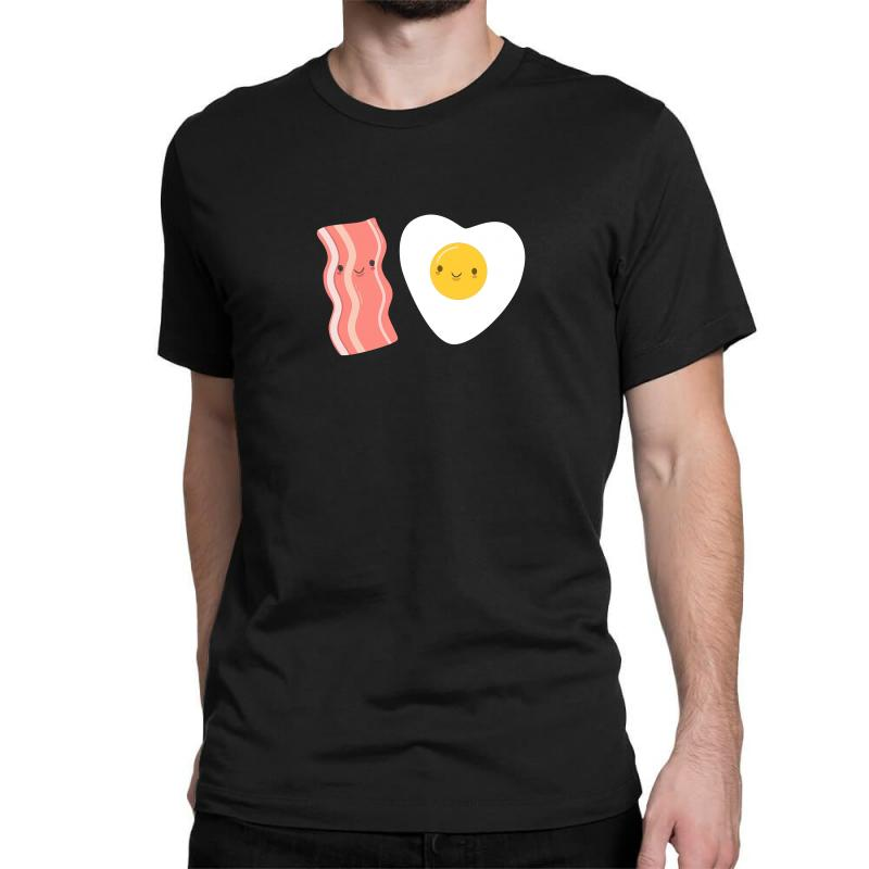 c86ed23f5 Custom Eggs And Bacon Are So Kawaii Classic T-shirt By Mdk Art ...