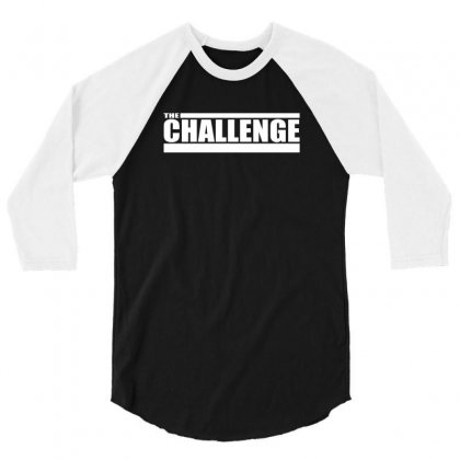 Mtv The Challenge 3/4 Sleeve Shirt Designed By Teeshop