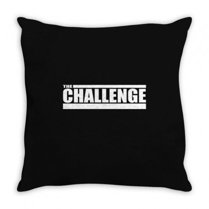 Mtv The Challenge Throw Pillow Designed By Teeshop