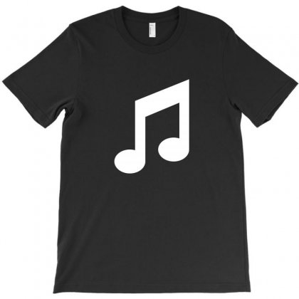 Musical Note T-shirt Designed By Teeshop