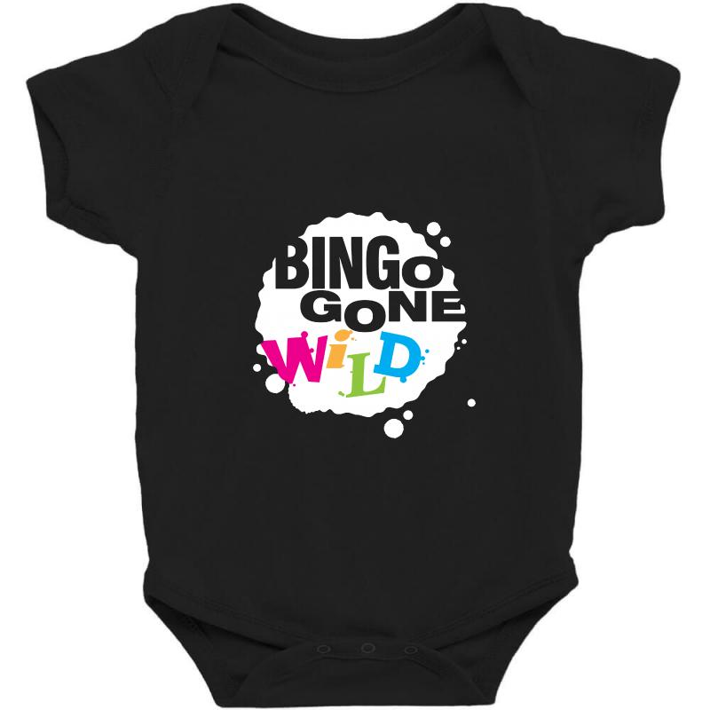 77cc12ef Custom Bingo Gone Wild Baby Bodysuit By Blqs Apparel - Artistshot