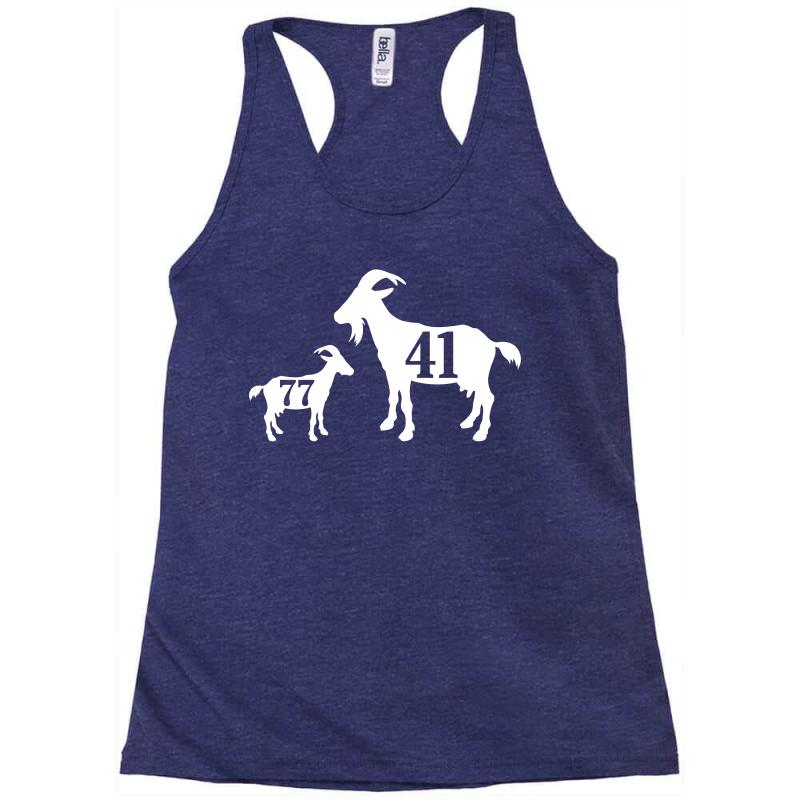 Custom The Goat Dirk Nowitzki And Luka Doncic Racerback Tank By ... 26e7c9042
