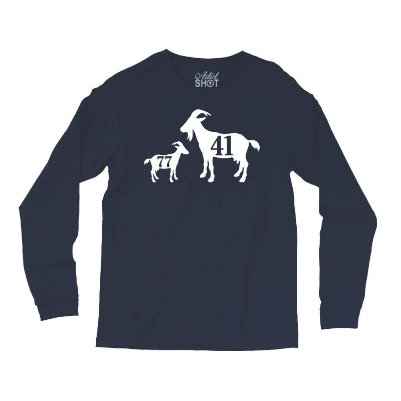 Custom The Goat Dirk Nowitzki And Luka Doncic Long Sleeve Shirts By ... 748b1cc8e