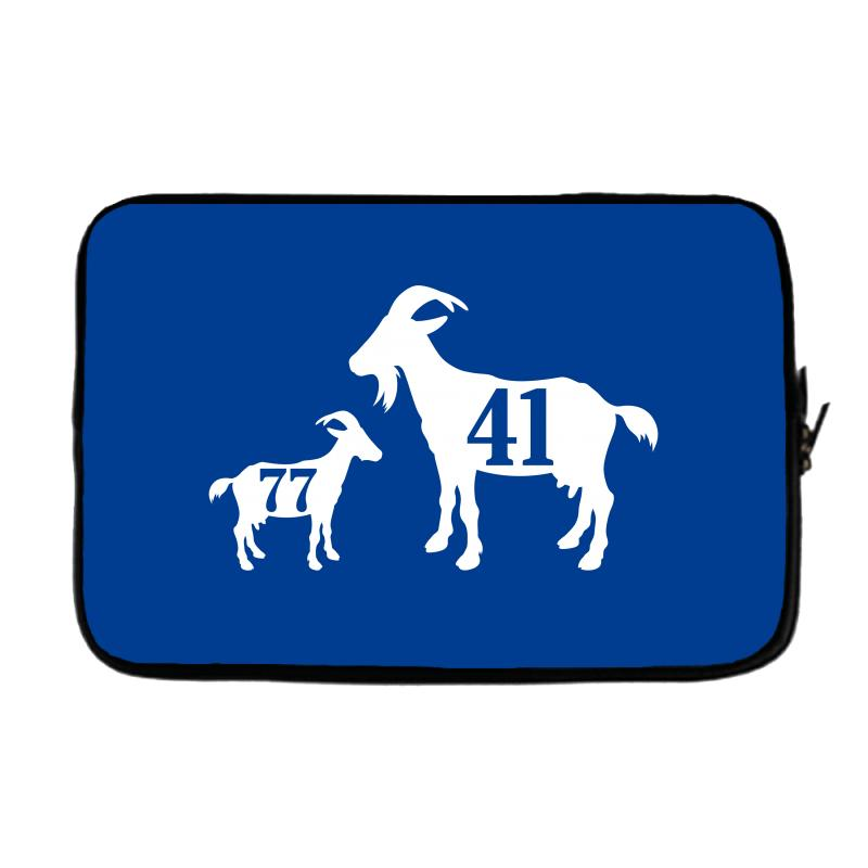 Custom The Goat Dirk Nowitzki And Luka Doncic Laptop Sleeve By ... 7474b8c60