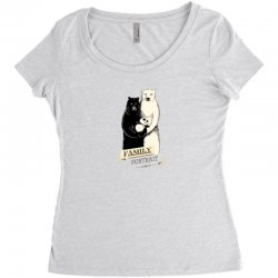 family portrait Women's Triblend Scoop T-shirt | Artistshot