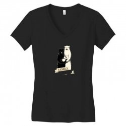 family portrait Women's V-Neck T-Shirt | Artistshot