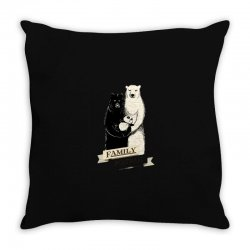 family portrait Throw Pillow | Artistshot