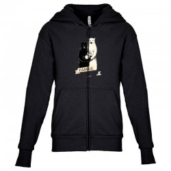 family portrait Youth Zipper Hoodie | Artistshot