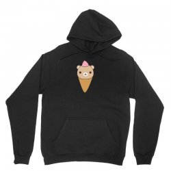 funny brown bear ice cream Unisex Hoodie | Artistshot