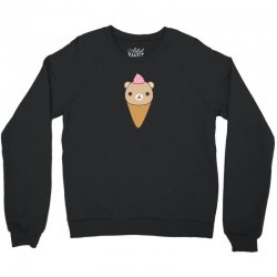 funny brown bear ice cream Crewneck Sweatshirt | Artistshot