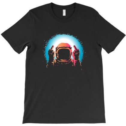 Negative Spaceman T-shirt Designed By Teeshop