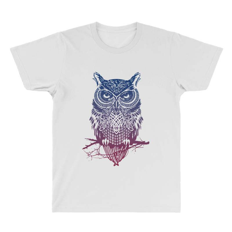 7ebcb679171f6 night warrior owl wild animal hipster wisdome funny joke All Over Men's T- shirt